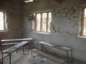 Ghormu School post earthquake