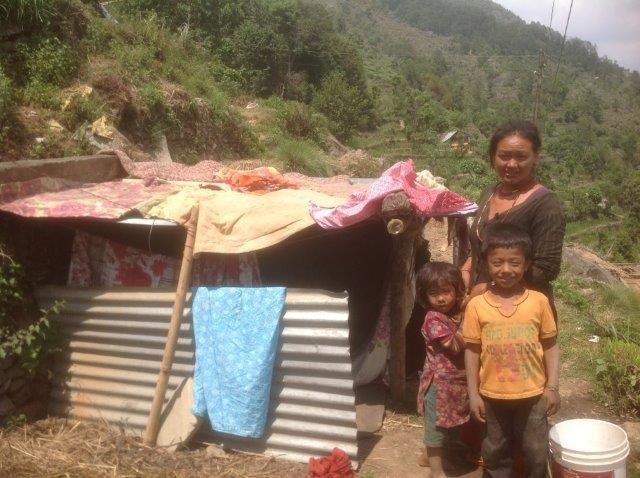Sponsor child Bishwash Tamang's new home