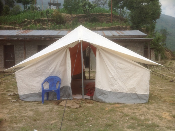 Kimarchung School tent & School Building and Support u2013 HHCP Nepal